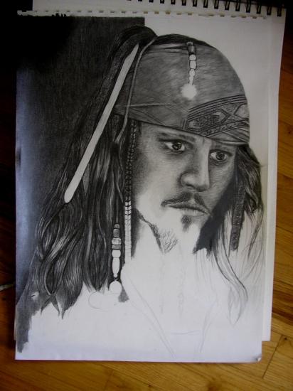 Johnny Depp by aliesjeh